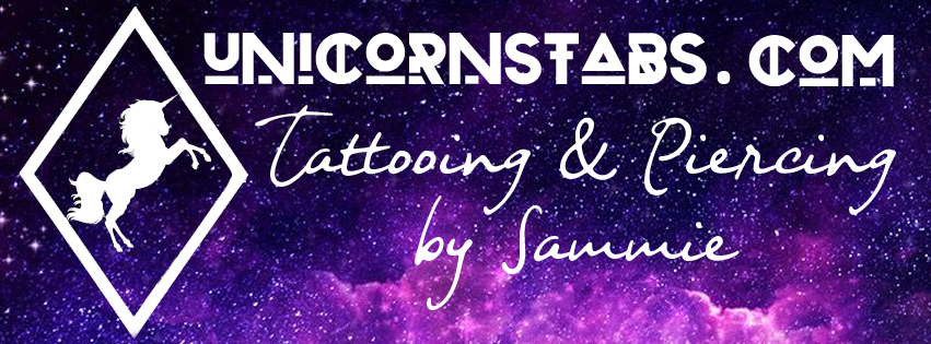 Unicorn Stabs Tattoo & Piercing - Buckley, Mold, North Wales. Female Tattoo Artist & Professional, qualified body piercer.
